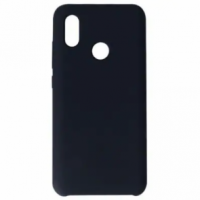 Silicone Case Защитный чехол для Xiaomi Mi 8 Lite Black
