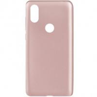 Чехол-накладка J-Case для Xiaomi Mi Mix 2S (розовое золото)