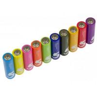 Батарейки алкалиновые Xiaomi (Mi) ZMI Rainbow ZI5 типа AA (уп.10 шт.) (AA501) - Colors